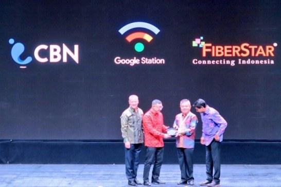 Google Kolaborasi dengan FiberStar dan CBN Wujudkan Google Station