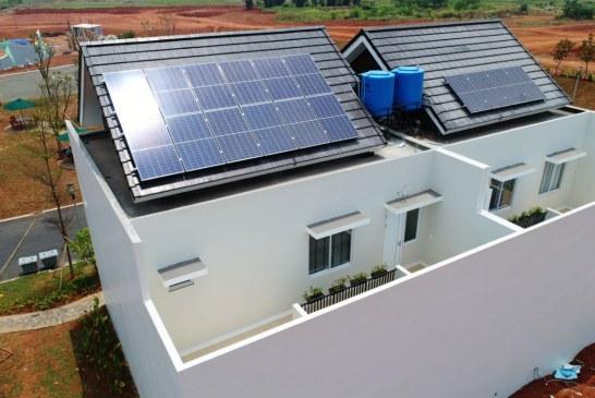 Klaster Terbaru Summarecon Serpong Menggunakan Panel Surya ATW Solar