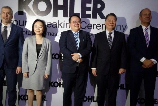 Kohler Resmi Bangun Pabrik di Indonesia