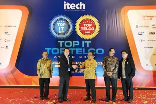 FiberStar Raih 2 Penghargaan TOP IT & TELCO 2017