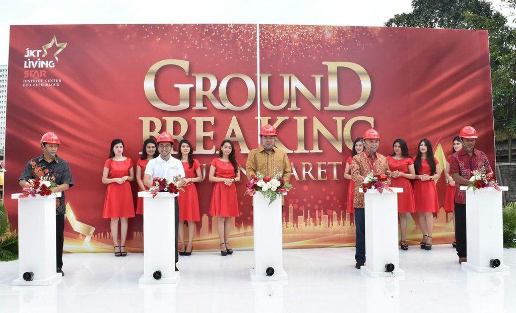 groundbreaking proyek JKT Living Star