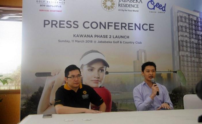Pecahkan Rekor Harga Apartemen Tertinggi Di Timur Jakarta, Jababeka Launching Kawana Golf Residence Tahap II