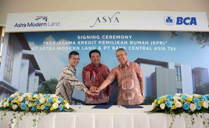 Astra Modern Land Jalin Kerja Sama Pemasaran KPR dengan BCA