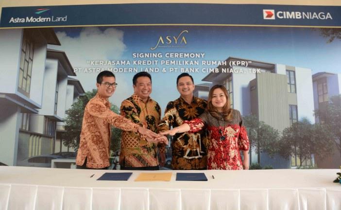 Pasarkan Asya,  PT Astra Modern Land Gandeng CIMB Niaga