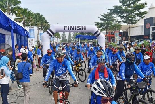 Jababeka Residence Ciptakan Wadah Komunitas Melalui Car Free Day