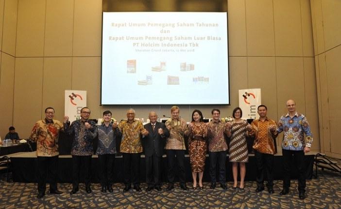 Pemegang Saham Setujui Hasil Rapat Umum Pemegang Saham Holcim Indonesia