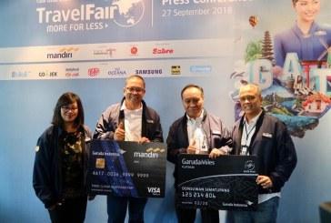 Garuda Indonesia Travel Fair (GATF) 2018 Fase 2 Tawarkan Tiket Hemat  Hingga 80%