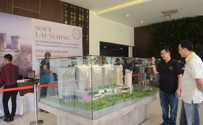 PT Izumi Sentul Realty Soft Launching Apartemen Opus Park di Sentul City Bogor
