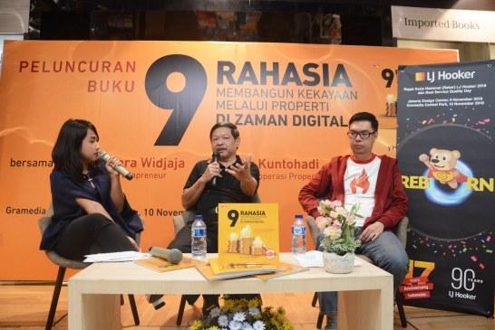 "Rayakan Sweet Seventeen, LJ Hooker Indonesia Luncurkan Buku ""9 Rahasia Membangun Kekayaan Melalui Properti di Zaman Digital"""
