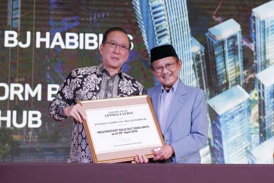 BJ Habibie: Megasuperblok Meisterstadt Batam Bakal Tandingi Marina Bay Sands
