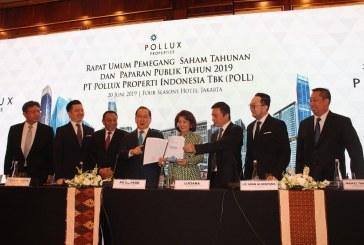 Gelar RUPST, Pendapatan dan Laba Bersih Pollux Properti Indonesia Naik 100%