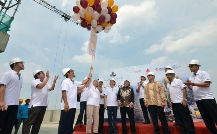 Mangkuluhur City Lakukan Topping Off