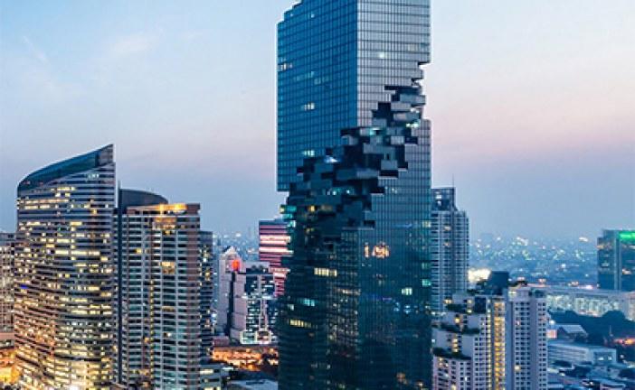 Inilah Gedung 'Piksel', Bangunan Tertinggi di Thailand!