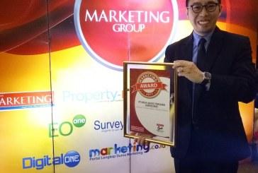 """FiberStar Raih Penghargaan """"The Best Market Driving Company"""" dari Marketing Award 2017"""