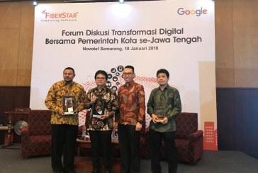 Forum Diskusi Terbuka Fiberstar dengan Pemerintah Provinsi Jawa Tengah Untuk Dukung Gerakan Smart City