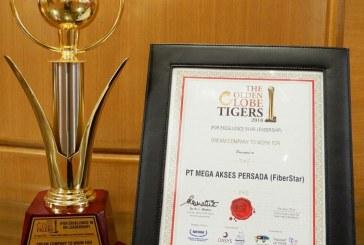Berkomitmen kembangkan Sumber Daya Manusia, FiberStar raih Golden Globe Tigers Award 2018