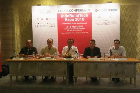 "Kembali Digelar, Indobuildtech Expo 2018 Mengusung Tema ""Sustainable Urban Development"""