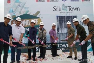 Lebih Cepat Lima Minggu, Condominium Silk Town Tower Alexandria Resmi Topping Off