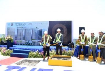 Apartemen Opus Park Sentul City Bogor Masuki Tutup Atap