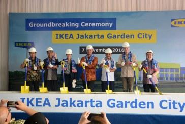 IKEA Mulai Dibangun Di Jakarta Garden City