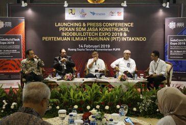 Pekan SDM Ahli Jasa Konstruksi 2019 Digelar Bersamaan dengan IndoBuildTech Expo 2019