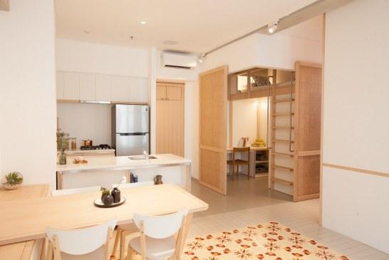 The Loggia, Apartemen Berkonsep Transformable