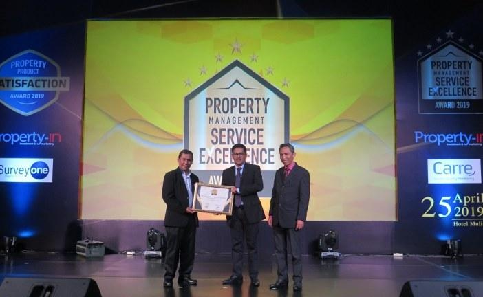 Paramount Land Kembali Raih Property Management Service Excellence (PMSE) Award 2019
