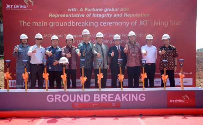 PT Sindeli Propertindo Abadi Gandeng MCC Land Bangun Superblok Jkt Living Star