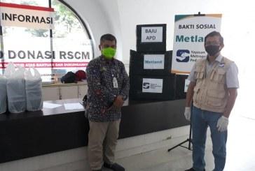 Wujudkan Kepedulian, Metland bersama Yayasan Anne Avantie Sumbang 1000 APD Kepada Tenaga Medis