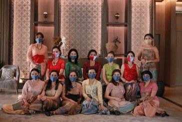 Meriahkan 75 Tahun Indonesia, Synthesis Residence Kemang Gelar Virtual Charity Fashion Show 'Wastra Sikka'