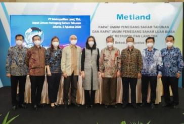 Rangkaian Kegiatan RUPST 2019 Metland : Laba Naik, Perubahan Komisaris sampai Strategi di Tengah Pandemi