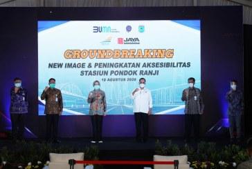 Dukung Pemkot Tangerang Selatan dan PT KAI, PT Jaya Real Property Bantu Revitalisasi Stasiun Pondok Ranji